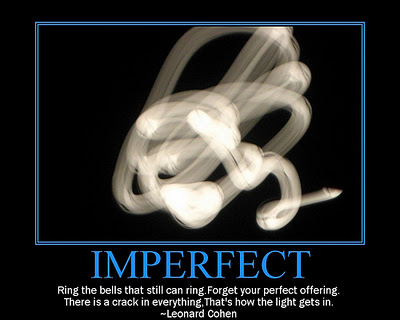 Imperfect me Quotes Imperfect Quote